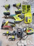 Ryobi Drill, Screw Gun, Reciprocating Saw, Circular Saw, and More
