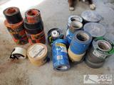 Misc New and Used Rolls of Tape, Gorilla. 3M, Scotch, Iron Force and Nashua