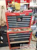 Tool Box and Top Box Full of Tools
