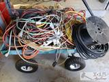 Wagon with Extension Cords