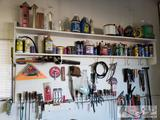 Tools, Degreasers, Trimming Line, Pipe Wrenches, and More