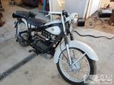 1949 Nimbus Model C Motorcycle, Running! See Video!