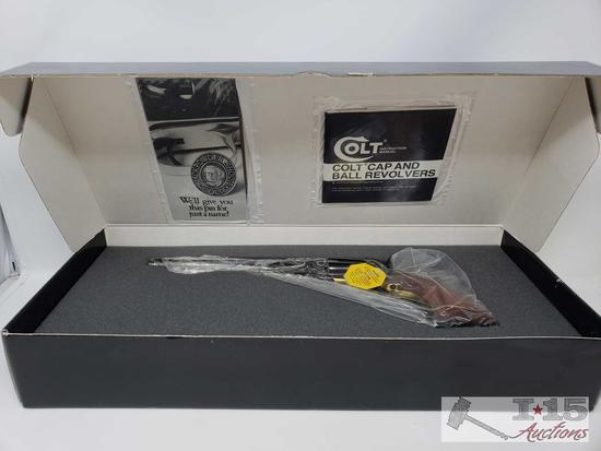 Colt 1860 Army Model F1203 Black Powder .44 Cal Revolver, Original Box, Never Fired
