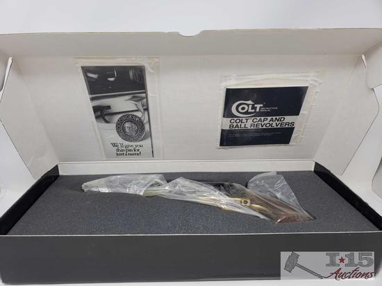 Colt 2nd Dragoon Black Powder .44 Cal Revolver, Original Box, Never Fired
