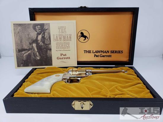 Colt Lawman Series Pat Garrett Frontier Scout .22lr Revolver with Case