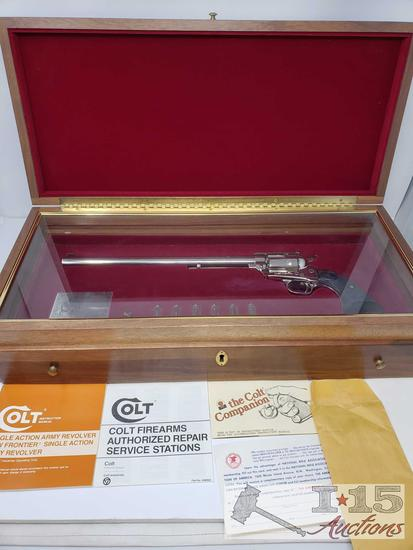 Colt New Frontier Ned Buntline Commemorative .45 Cal Revolver with Case