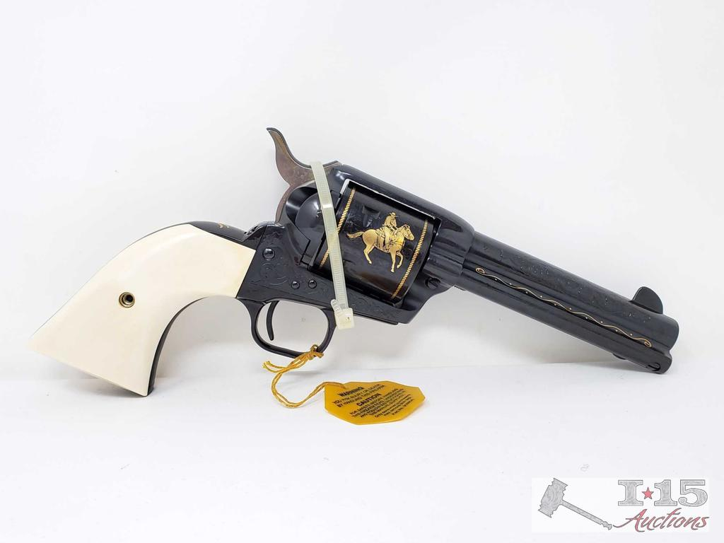 Colt Single Action Army John Wayne Commemorative .45 Revolver with Case