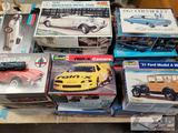 Misc Model Cars, AMT, Monogram, Revell, Jo-Han, and MPC