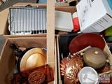 4 Boxes of Misc Kitchen Items