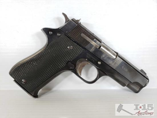 Star Model BM 9mm Semi-Auto with Holster