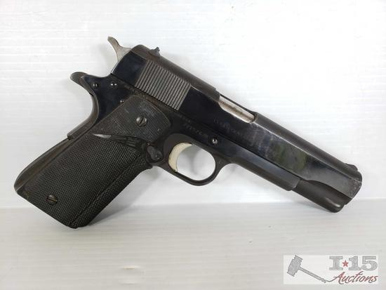 Colt MK IV Series 79 Government Model 1911 .45 Cal Semi-Auto with Holster