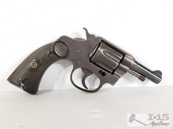 Colt Pocket Positive .32 Police CTG Revolver with Holster