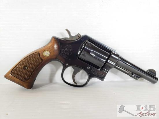 Smith & Wesson Model 10-5, .38 S&W Special Revolver with Box