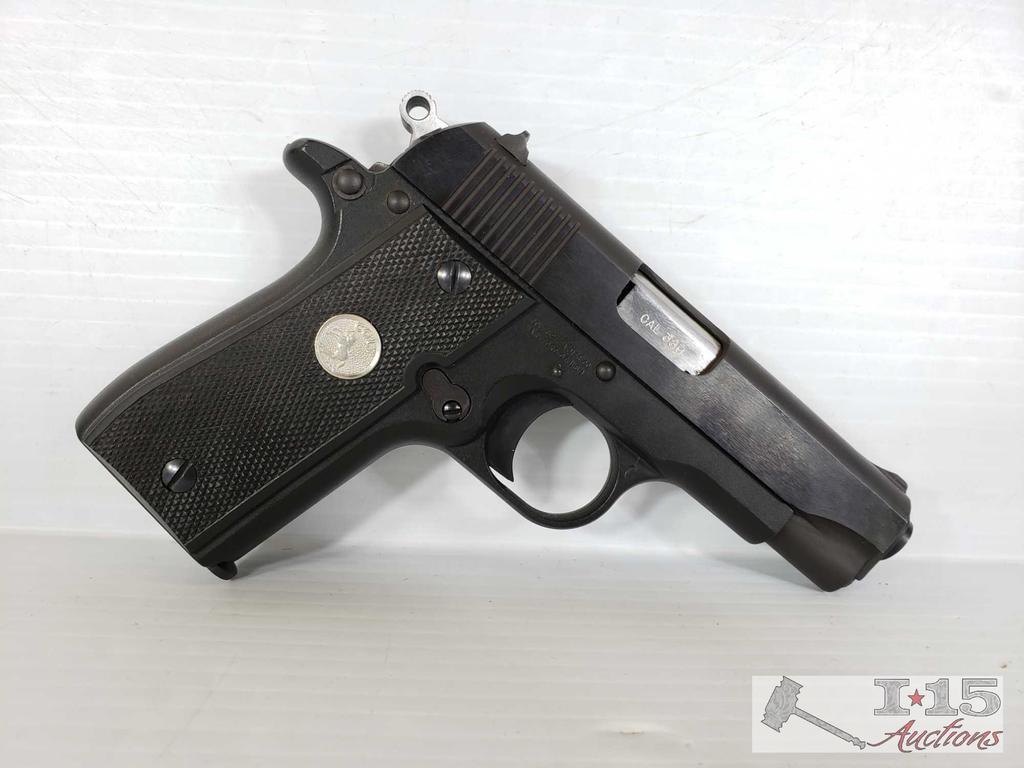 Colt Government Pocketlite .380 Semi-Auto with Original Case