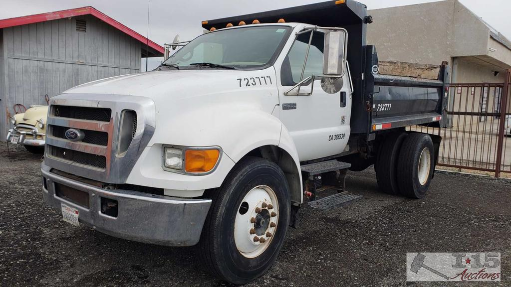 2005 Ford F-650 Dump Truck, Running! Video Coming Soon
