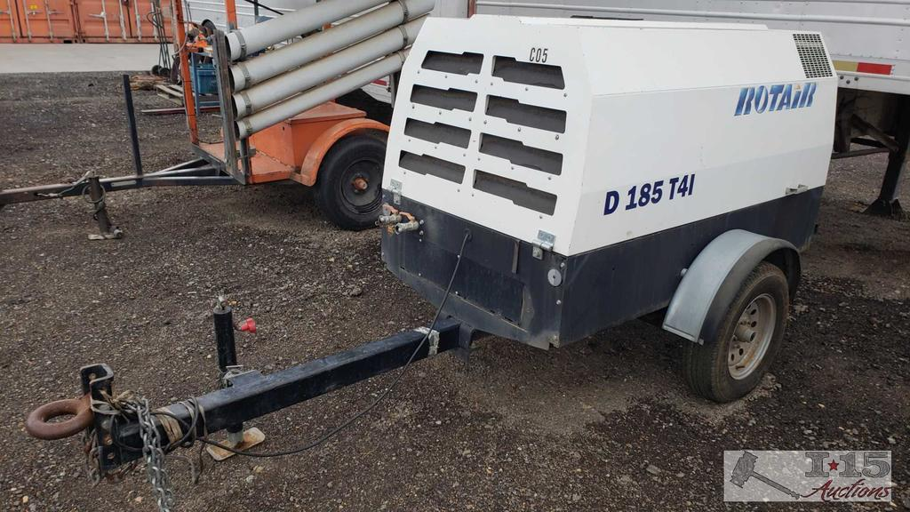 2015 Rotair Ultra Silent D185T41 Air Compressor, Running, See Video!!
