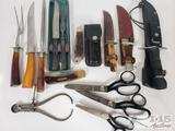 Pocket Knives, Stainless Steel Utensils, Craft Scissors and More