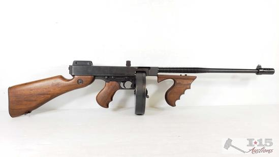 Thompson Model of 1927 A1 Semi-Auto Carbine .45 Auto, with Hard Case