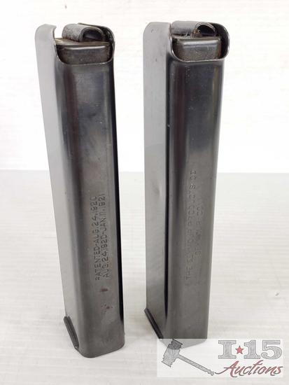2 .45 Cal 20 Round Magzines for Thompson Model 1927