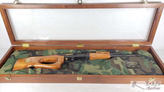 Hungarian SA 85M Vietnam War Trophy Edition AK-47 7.62x39 with Display Case