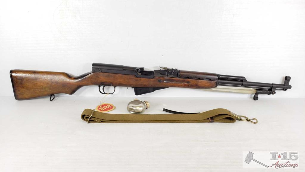 Russian SKS-45 Semi-Auto 7.62x39 Rifle with Original Box