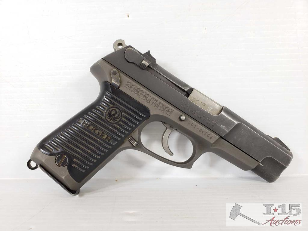 Ruger P85 9x19 mm Semi-Auto Pistol with 15 Round Mag