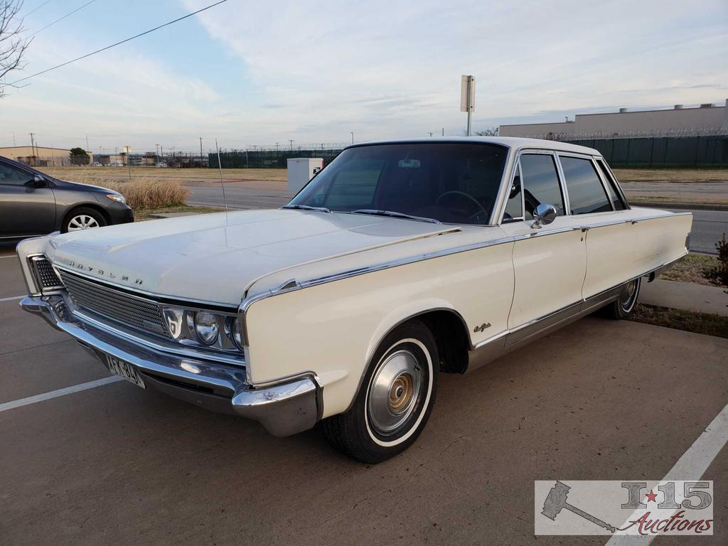 1966 Chrysler New Yorker 4 Door Runs good. Check out the video!