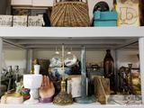 Misc Home Decor, Brass, Stone, Glass and Other Decorative Items