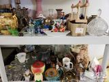 Mason Jars, Decorative Items, Antique Bottles, 75th Anniversary Coca Cola Bottle, and More