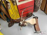 Vintage Roadmaster Tricycle and Scooter