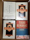 16 Texas Almanacs, 15 1984-1985 and 1 1956-1957