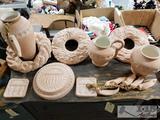 Matching Pottery Set