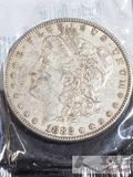 1882 Morgan Silver Dollar Philadelphia Mint, Uncirculated