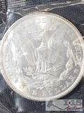 1904 Morgan Silver Dollar New Orleans Mint, Uncirculated