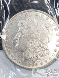 1880 Morgan Silver Dollar New Orleans Mint, Uncirculated