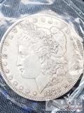 1878 Morgan Silver Dollar Philadelphia Mint, Uncirculated