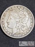 1881 Morgan Silver Dollar Philadelphia Mint