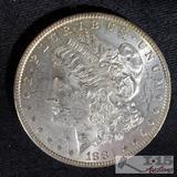 1881 Morgan Silver Dollar New Orleans Mint