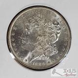 1888 Morgan Silver Dollar New Orleans Mint