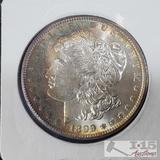 1899 Morgan Silver Dollar New Orleans Mint