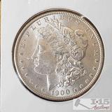 1900 Morgan Silver Dollar Philadelphia Mint