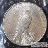 1922 Silver Peace Dollar Philadelphia Mint