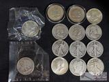 Walking Liberty, Barber, Franklin, Columbian and Kennedy Half Dollars