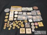 Various Play Tokens & Play Money From A Variety Of Places Like The Chicken Ranch, and More