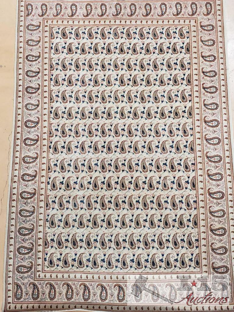 Kashan Iranian Wool Rug