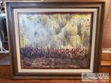 Pascal Cucaro Oil on Canvas