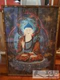 Framed Sitting Buddha