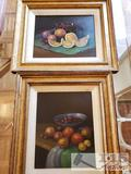 Two Framed and SIGNED ORIGINAL Roel Wildeboer Paintings (1902-1982)