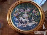 La Chasse a la Licorne Robert Haviland & C. Parlon Plate
