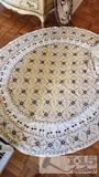 Vintage Handmade Tablecloth, Placemats, and napkins